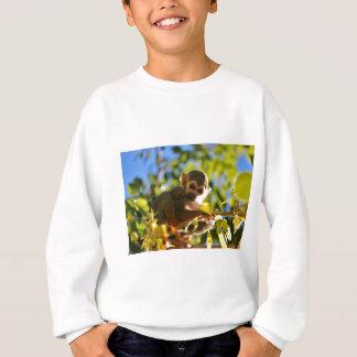 猿は照ります スウェットシャツ