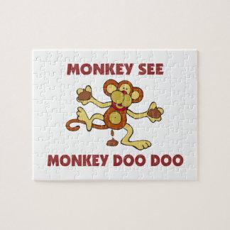 猿は猿Doo Dooを見ます ジグソーパズル