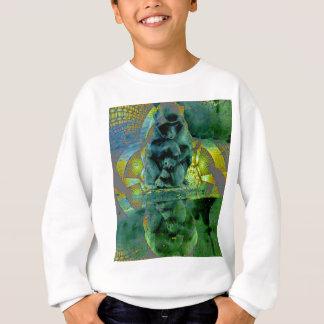 猿は見ます スウェットシャツ
