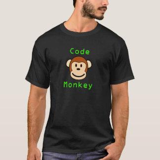 猿をコードして下さい Tシャツ