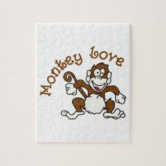 猿愛 ジグソーパズル
