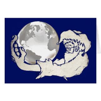 猿手の全世界 カード