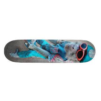 猿板 21.6CM オールドスクールスケートボードデッキ