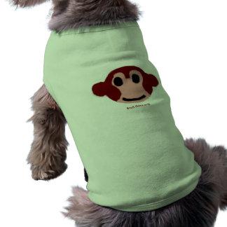 猿犬のワイシャツ ペット服
