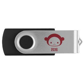 猿2016銀製USBドライブの年 USBフラッシュドライブ