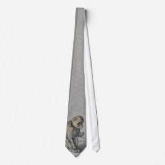 猿 オリジナルネクタイ