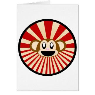 猿! グリーティングカード