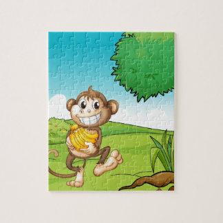 猿 ジグソーパズル