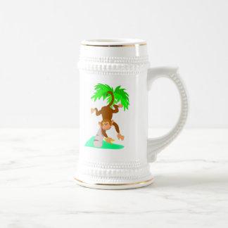 猿 ビールジョッキ