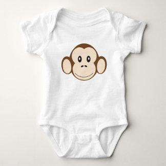 猿 ベビーボディスーツ