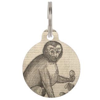 猿 ペット ネームタグ