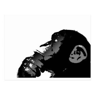 猿 ポストカード