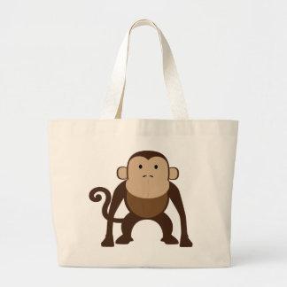 猿 ラージトートバッグ
