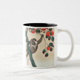 猿、小原古邨 Koson ツートーンマグカップ