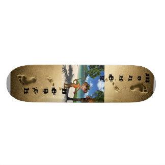 猿 浜 スケートボード