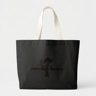 猿|浜|米国東部標準時刻|2011年|®|Do'minic|設計|ハンドバッグ キャンバスバッグ