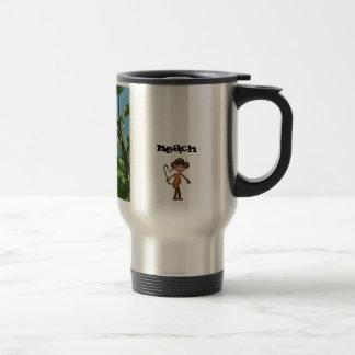 猿 浜 米国東部標準時刻 2011® コーヒー 旅行 マグ