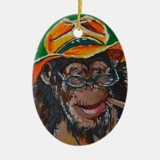 猿-紳士 セラミックオーナメント