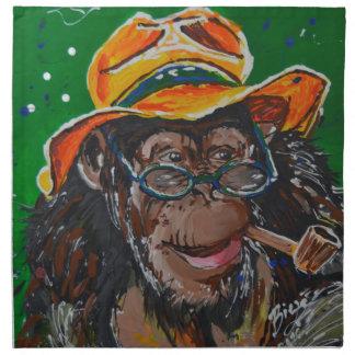 猿-紳士 ナプキンクロス