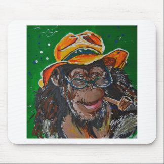 猿-紳士 マウスパッド