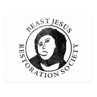 獣のイエス・キリストの復帰の社会 ポストカード