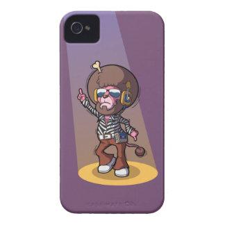 獣のブラックベリーのはっきりしたな箱に聞いて下さい Case-Mate iPhone 4 ケース