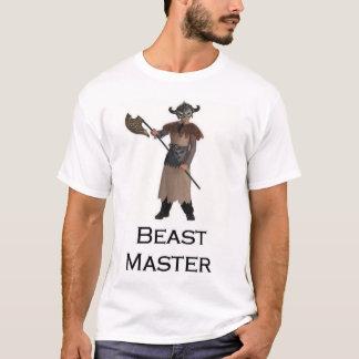 獣のマスター Tシャツ