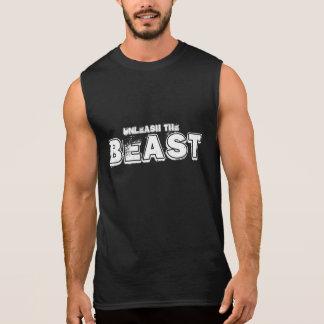 獣を自由にして下さい 袖なしシャツ