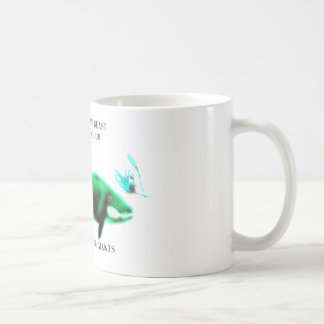獣を解放して下さい コーヒーマグカップ