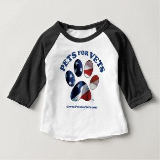 獣医のためのペット ベビーTシャツ
