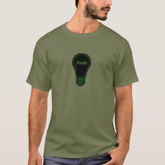獣医のための緑の球根 Tシャツ