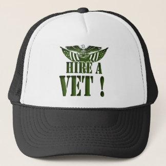 獣医の助けを私達の英雄雇って下さい! 軍のギア キャップ