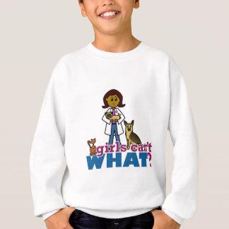 獣医の女の子 スウェットシャツ
