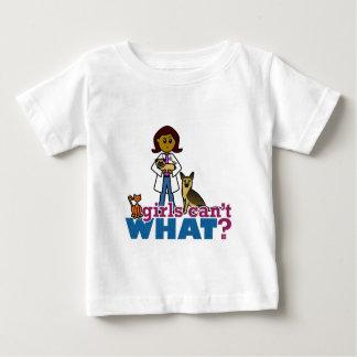 獣医の女の子 ベビーTシャツ