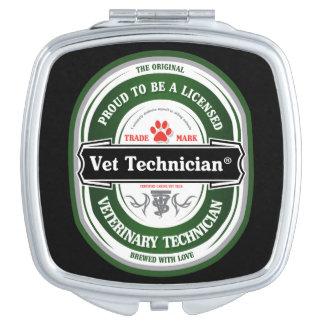 獣医の技術の鏡があること誇りを持った