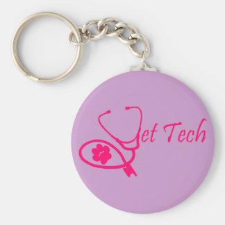 獣医の技術のkeychainのピンク キーホルダー