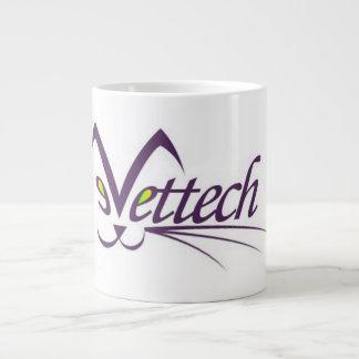 獣医の技術のVettechのマグの白いジャンボ ジャンボコーヒーマグカップ