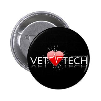 獣医の技術ボタン 5.7CM 丸型バッジ