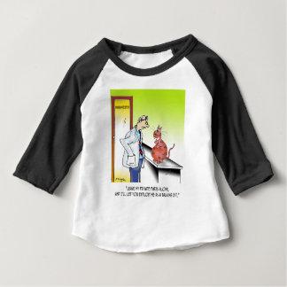 獣医の漫画9480 ベビーTシャツ