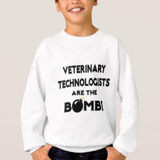 獣医の科学技術者は爆弾です! スウェットシャツ
