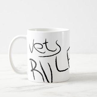 獣医の規則のマグ コーヒーマグカップ