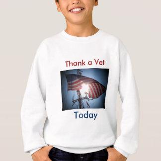 獣医を感謝していして下さい スウェットシャツ
