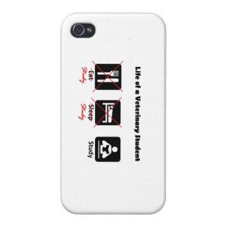 獣医学生のiPhoneの例の生命 iPhone 4/4S Cover