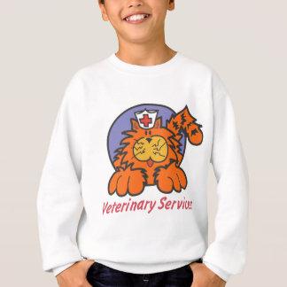 獣医猫 スウェットシャツ