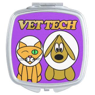 獣医TECHの鏡