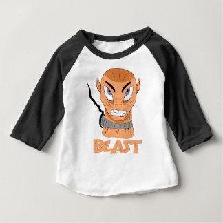 獣 ベビーTシャツ