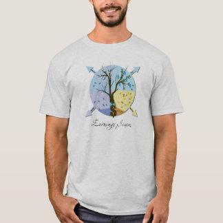 獲得の季節の株式市場のワイシャツ Tシャツ