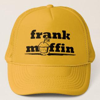 率直なマフィンのロゴのトラック運転手の帽子 キャップ