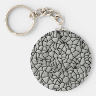 玉石は表面に投石します キーホルダー
