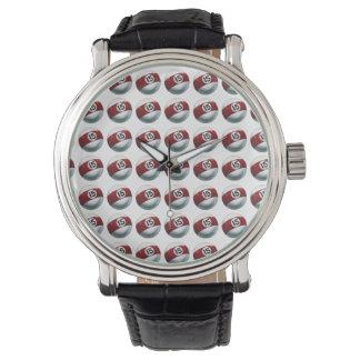 玉突の玉15パターン 腕時計